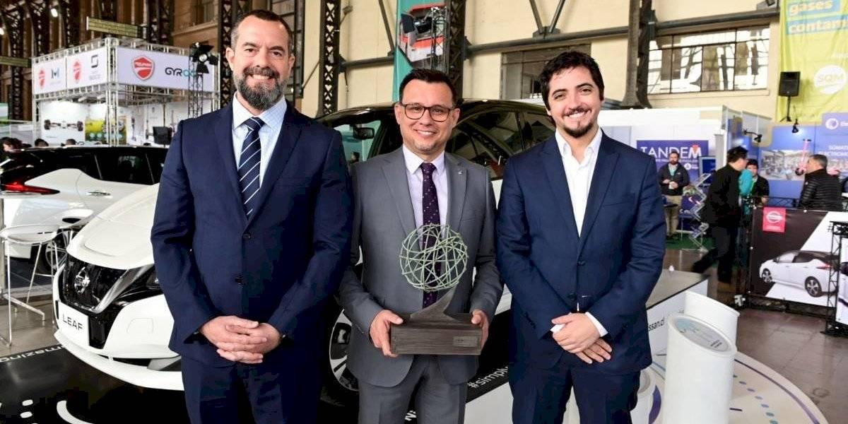 Nissan Chile es premiado por su trabajo en electromovilidad