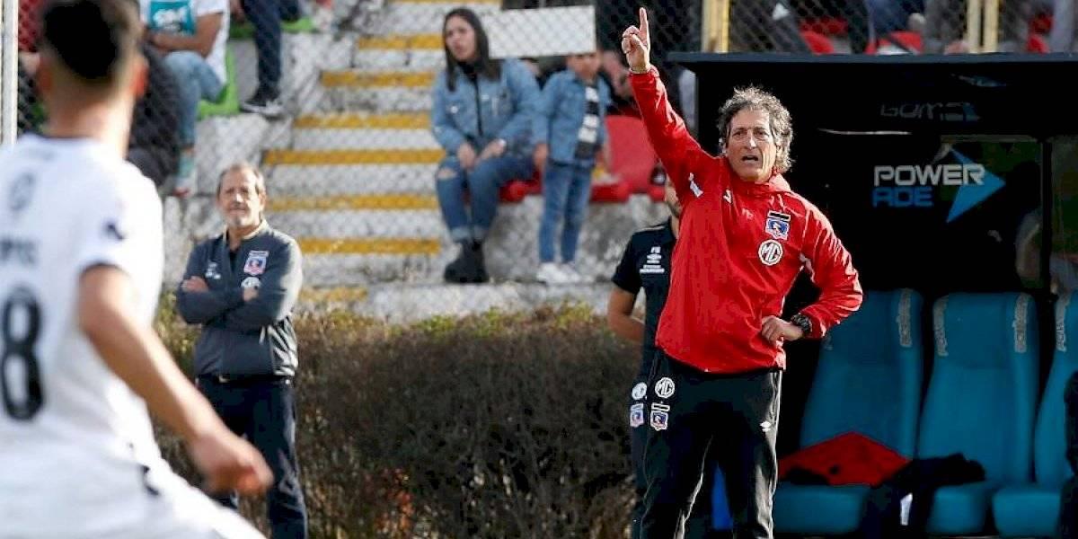 """La autocrítica de Mario Salas en Colo Colo: """"Nos ha faltado esa racha de regularidad y solvencia futbolística"""""""