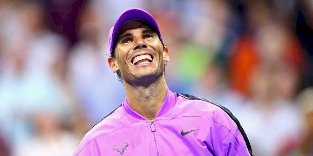 Rafael Nadal avanza a la siguiente ronda, sin jugar, en el US Open