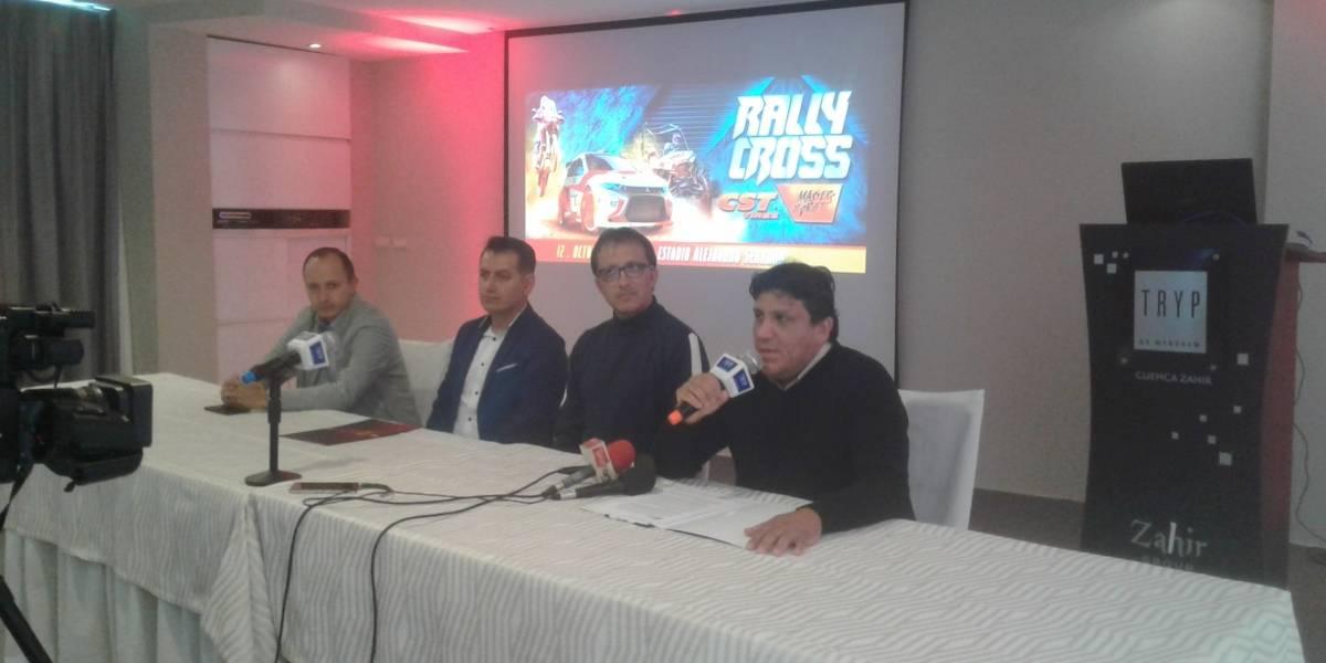 Rally Cross Masters of Drift: Destinará 50 centavos de las entradas vendidas al Deportivo Cuenca