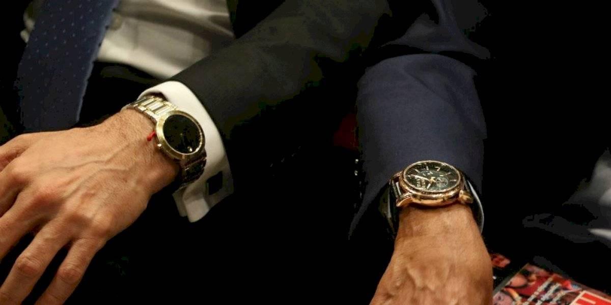 Robo de relojes
