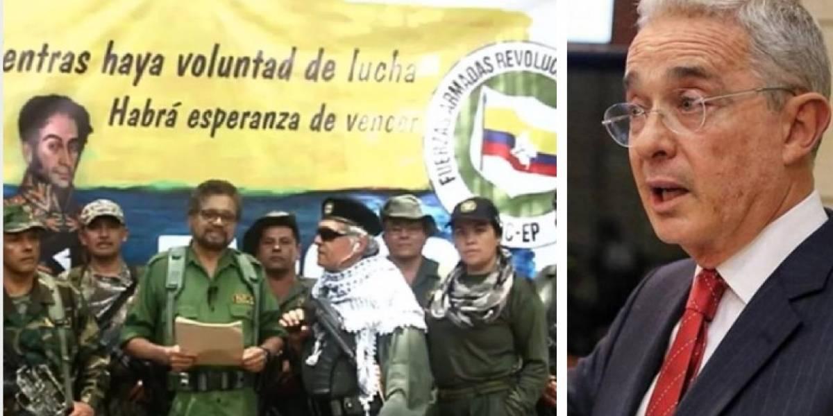 Las explosivas  y polémicas declaraciones de Uribe frente a la nueva guerrilla