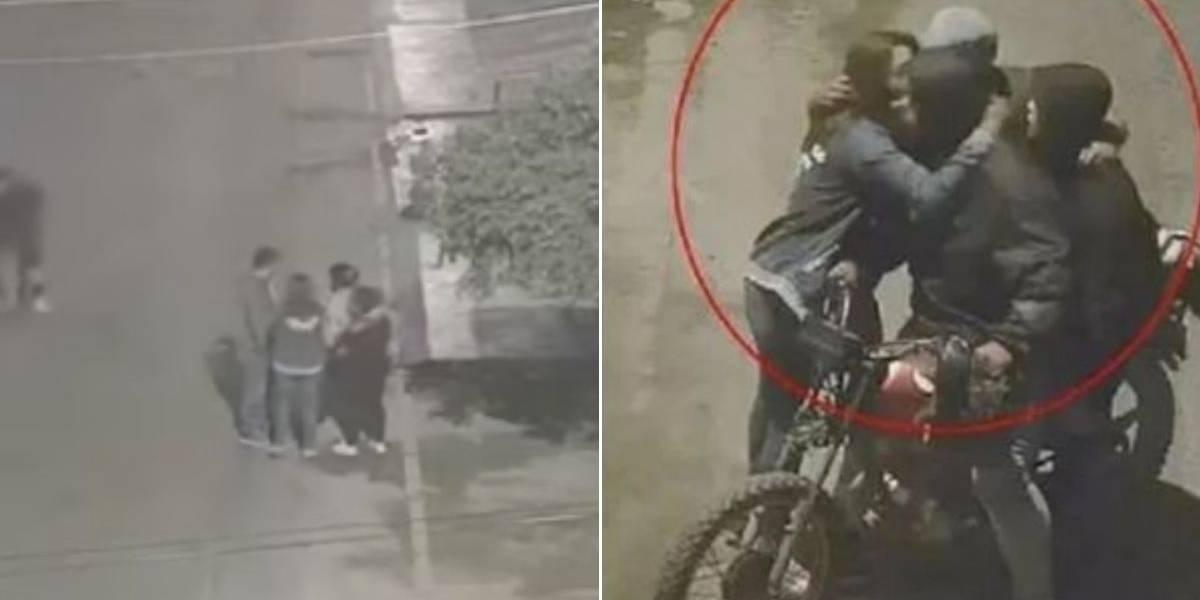 (VIDEO) Grupo de jóvenes se salvó de violento robo porque los delincuentes se percataron que estaba su amiga