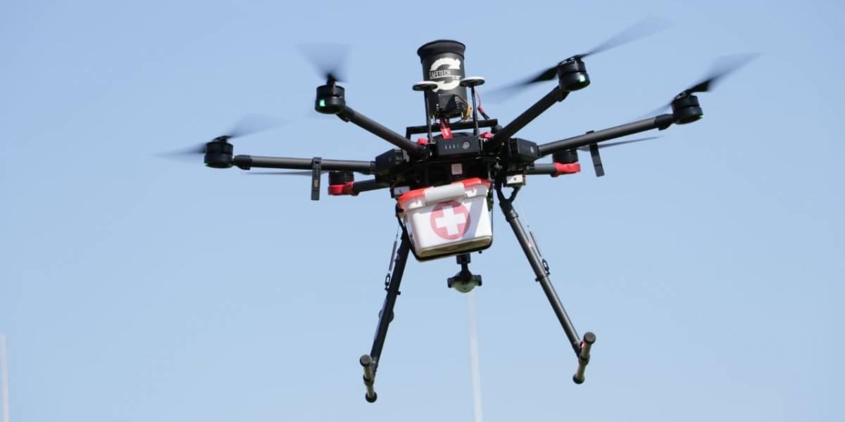 Ponen a prueba modelos de dron que trasladan órganos para trasplantes