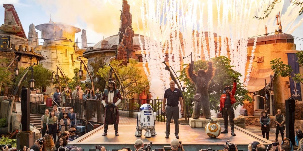 Miles ya experimentan la fuerza de Star Wars en Disney World