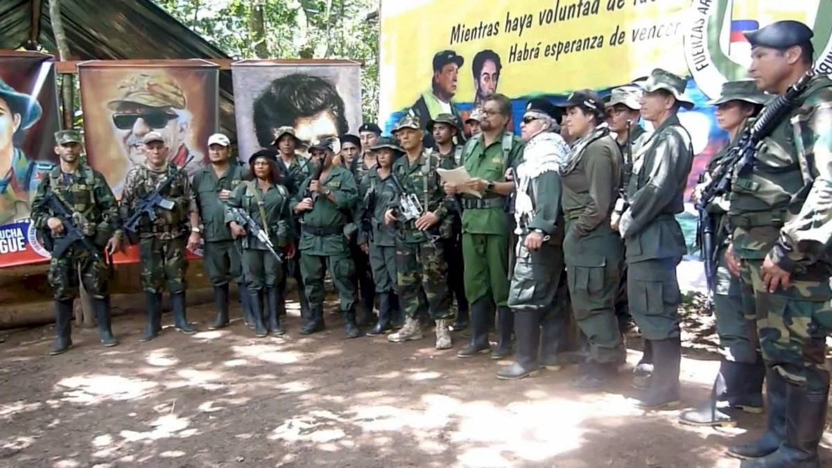 Exjefes disidentes de las FARC EFE