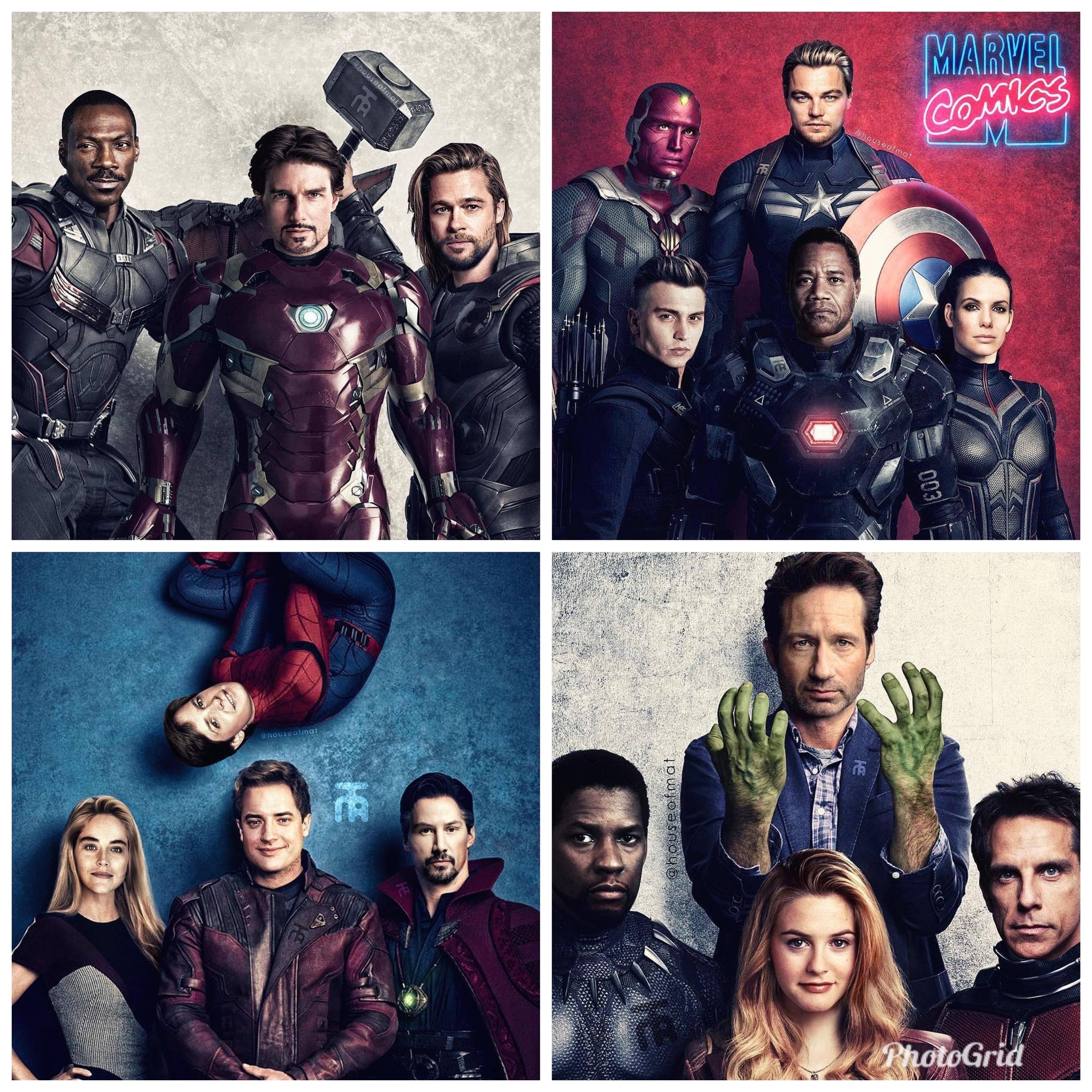 Avengers en los 90s