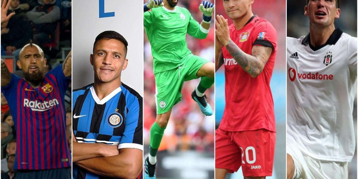 Champions y Europa League: La temporada 2019-2020 tendrá una de las presencias chilena más baja en los últimos años