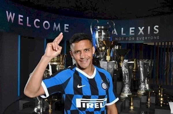 Alexis Sánchez, nuevo fichaje del Inter