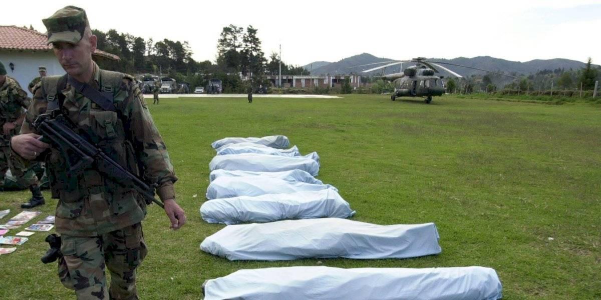 Nueve disidentes de las FARC mueren en bombardeo del Ejército colombiano