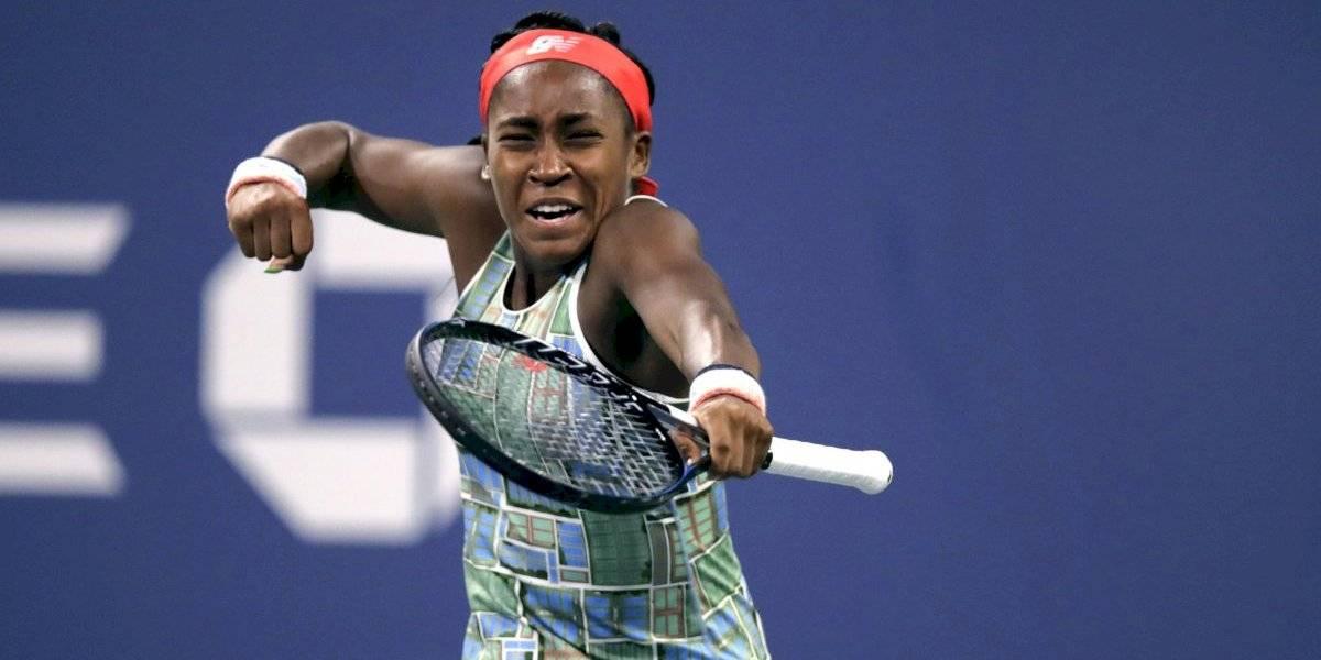 No fue casualidad: Niña de 15 años sigue asombrando al llegar a tercera ronda del US Open