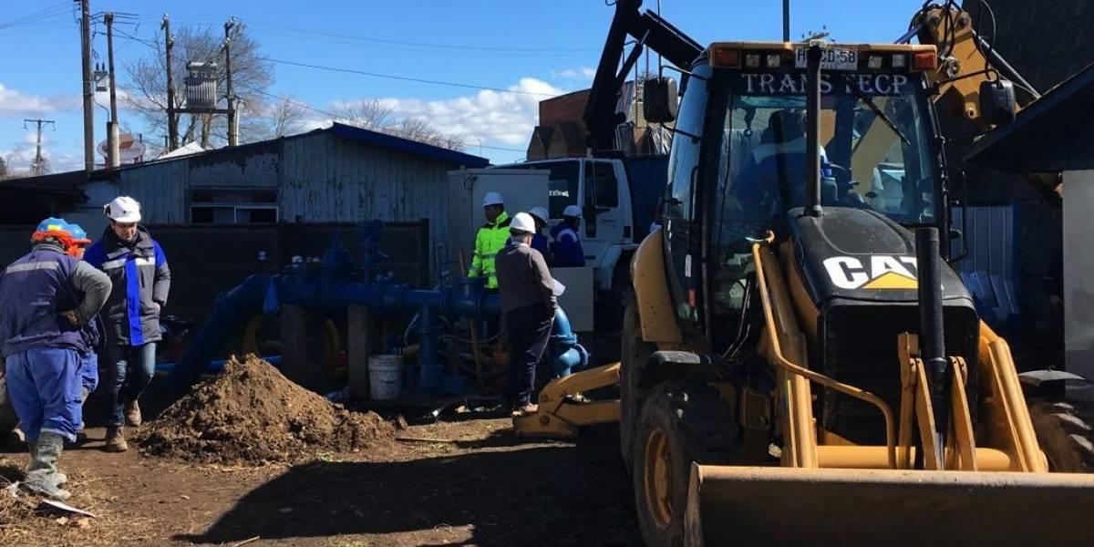 Essbio confirma fin de trabajos en Los Ángeles y llenado de red de agua potable