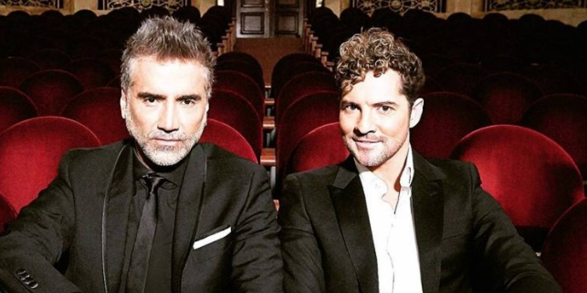 David Bisbal y Alejandro Fernández presentan la canción 'Abriré la puerta'
