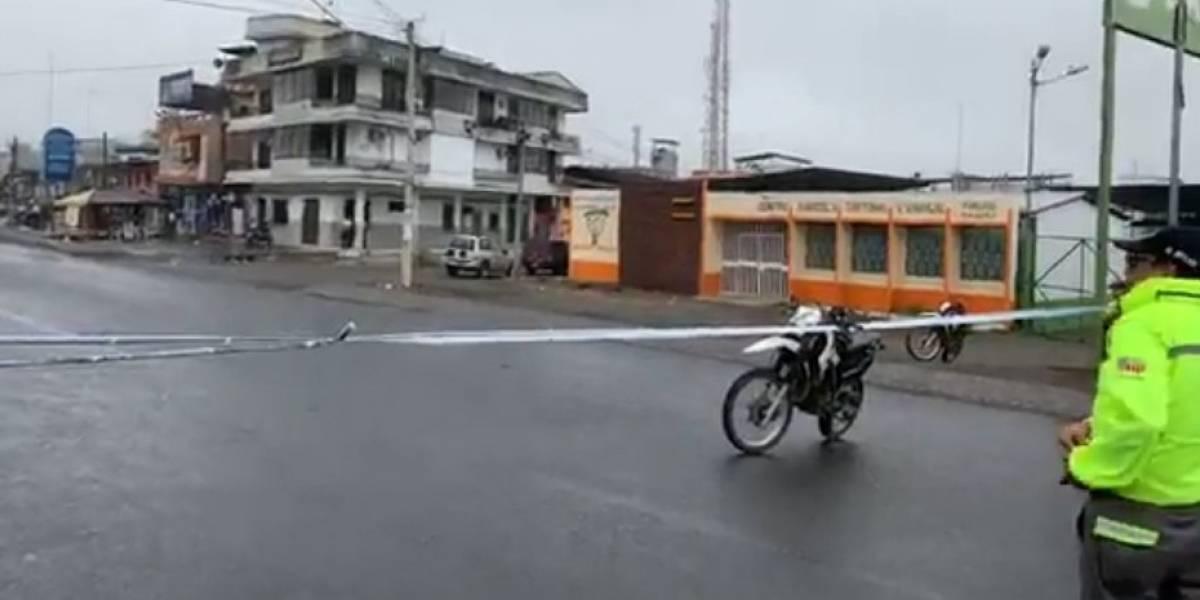 Alerta de robo y posibles rehenes en oficina bancaria de Naranjal fue controlada
