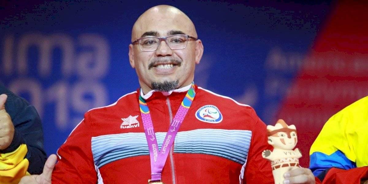 Juan Carlos Garrido ganó un nuevo oro para Chile en los Parapanamericanos 2019 con récord incluido