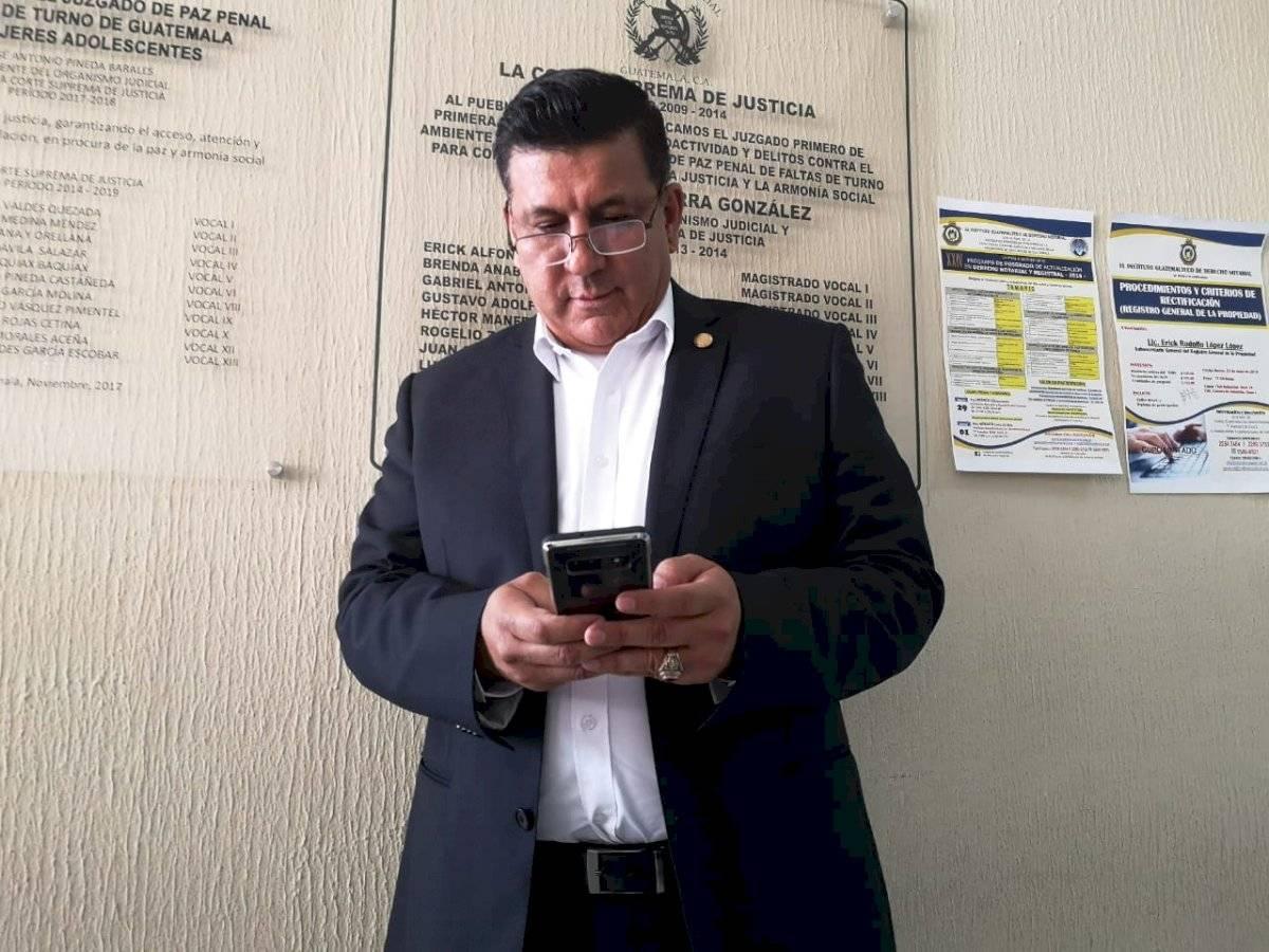 Galdámez acude después de tres citaciones ante juez pesquisidor