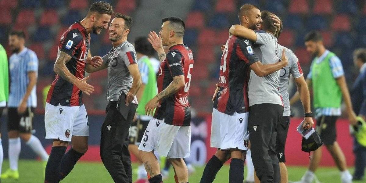 Gary Medel no necesita tiempo de adaptación y tuvo un buen debut en la sufrida victoria de Bologna en la Serie A