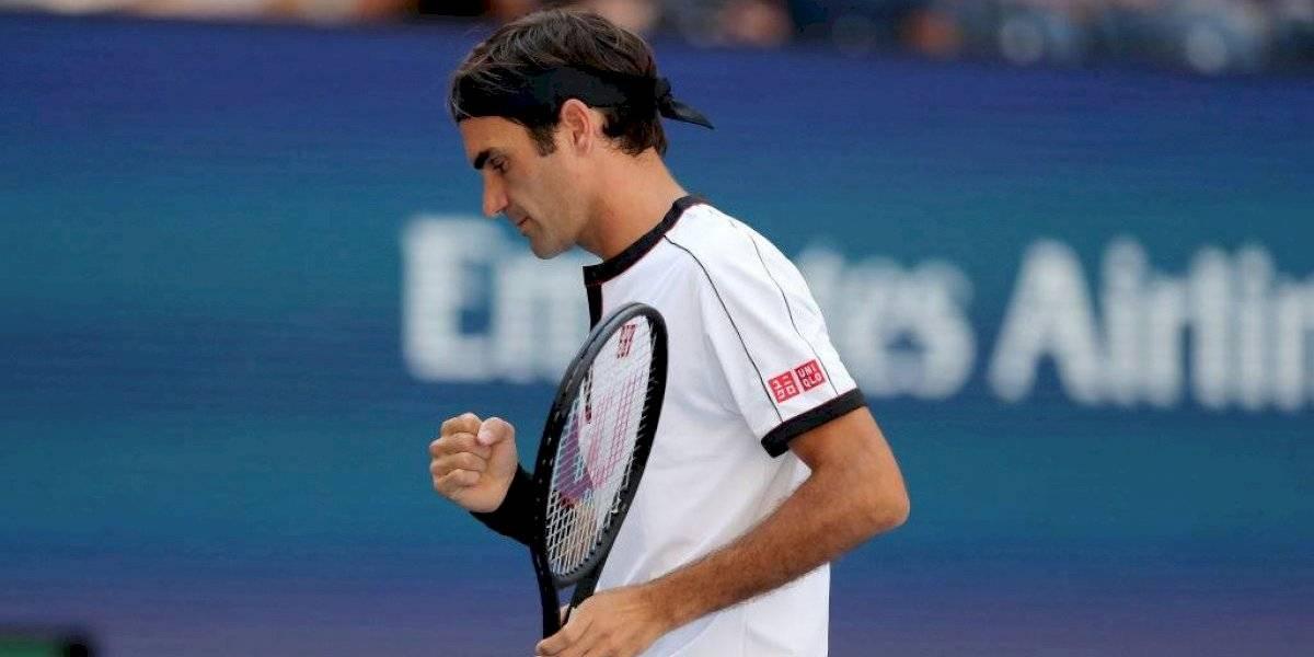 Roger Federer sigue de paseo por Nueva York y se metió en octavos del US Open