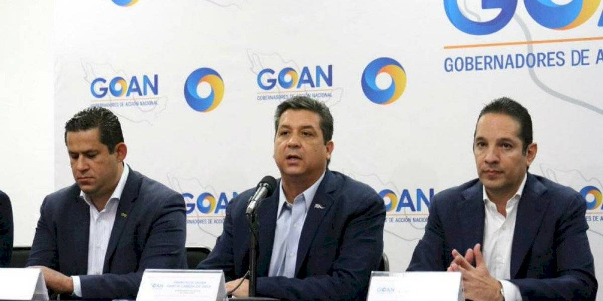 Gobernadores panistas se asocian para ser contrapeso político