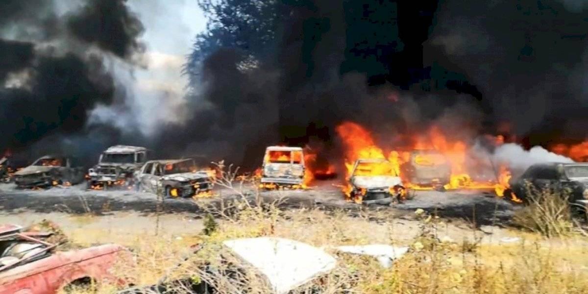 Sí se pagarán a los dueños de autos quemados tras incendio en centro de retención vehicular en Quito