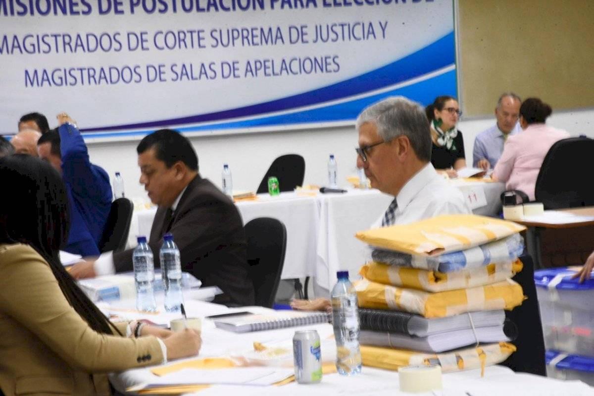 Profesionales del derecho buscan ocupar los cargos de magistrado de CSJ y salas de Apelación. Foto: Herlindo Zet