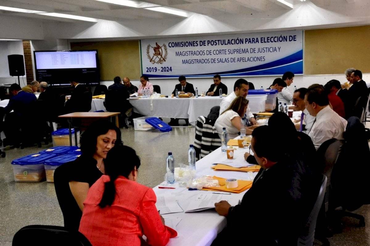 Las comisiones de postulación para magistrados a la CSJ y de las Salas de Apelaciones suspendieron sus actividades por orden de la CC. Foto: Herlindo Zet
