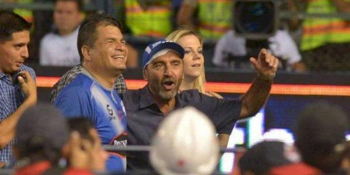 ¿Rafael Correa ayudaba al Club Sport Emelec?