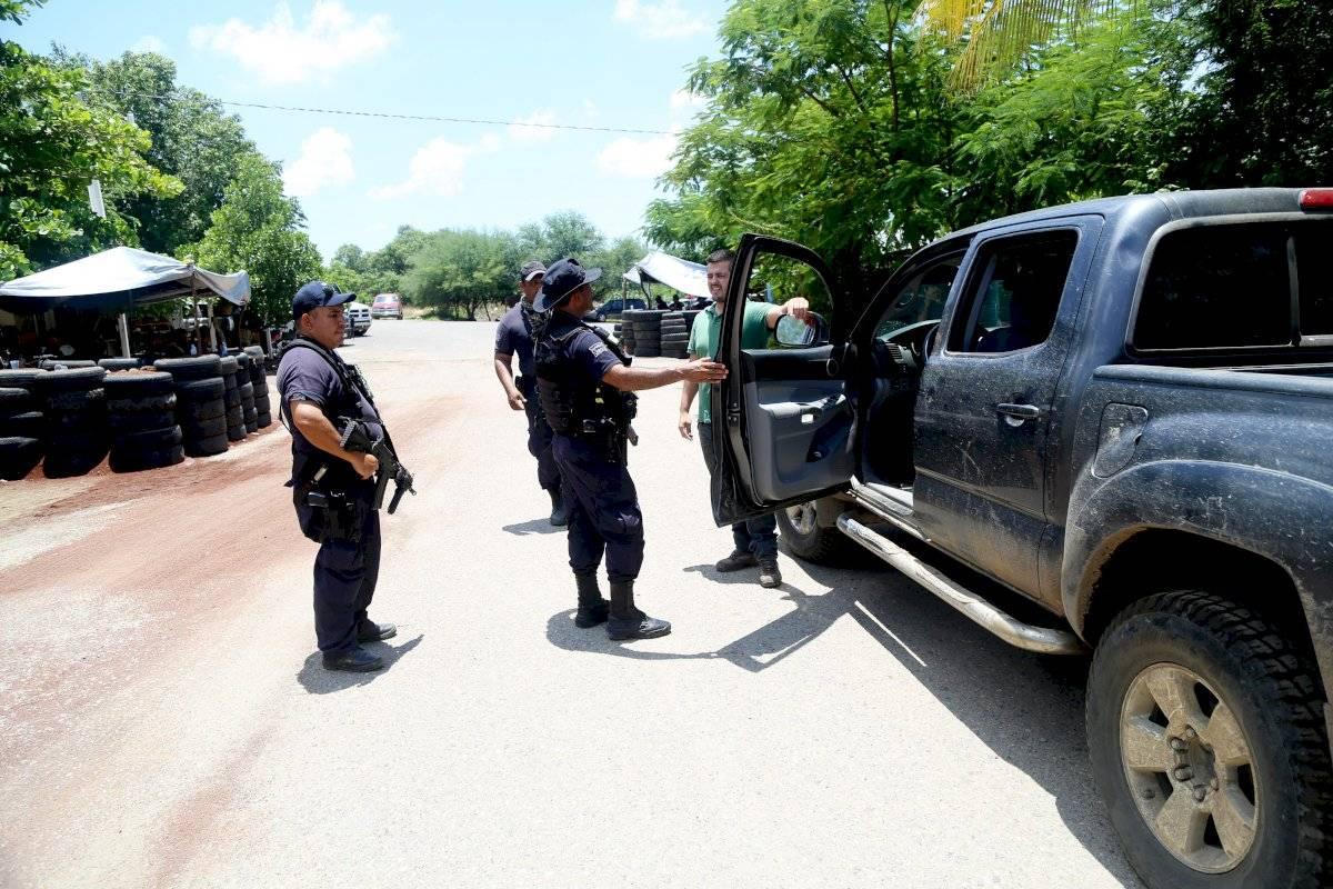 Vigilancia en Tepalcatepec Foto: Cuartoscuro (Archvo)