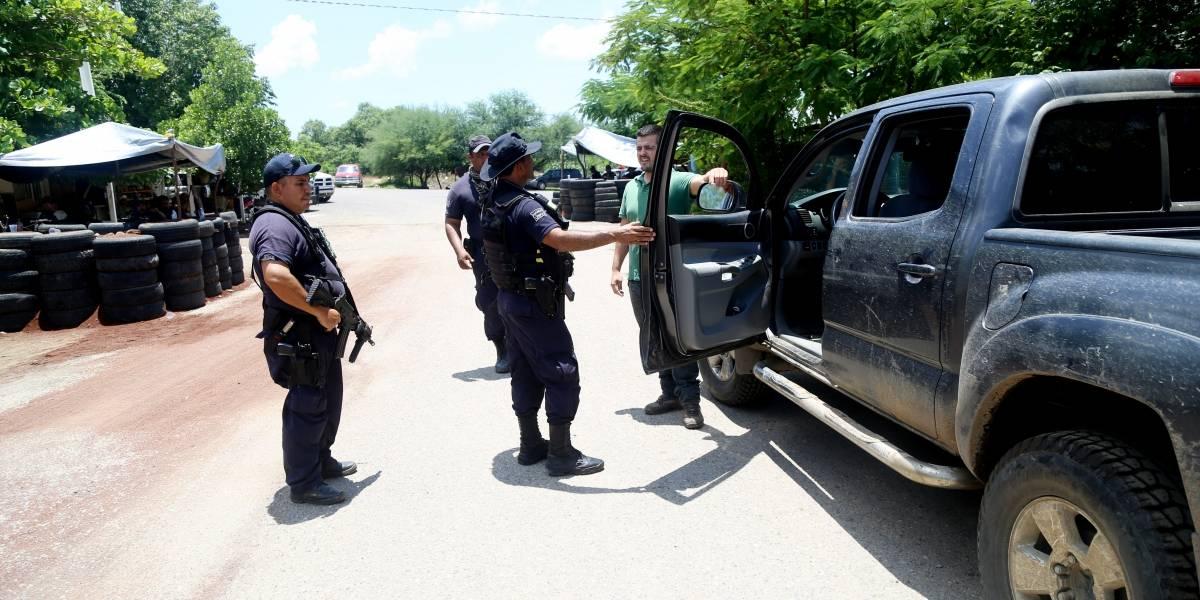 Se registran enfrentamientos con granadas en Tepalcatepec, Michoacán