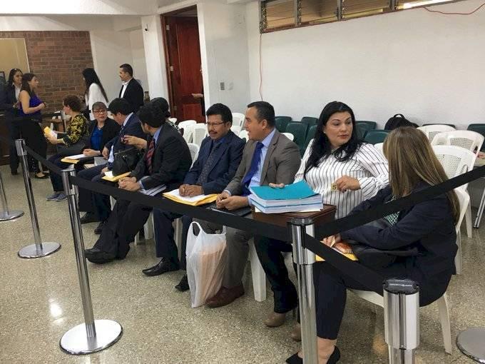 Aspirantes a magistrados de la CSJ. Foto: Jerson Ramos
