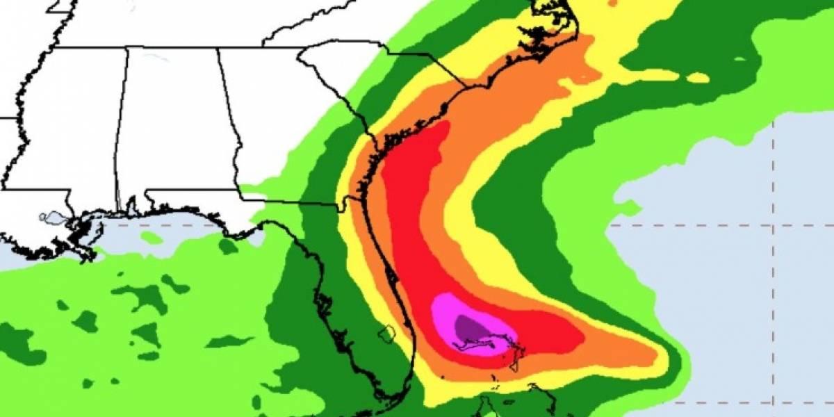 """El """"monstruo"""" aumenta su fuerza: huracán Dorian sube a tormenta de categoría 4 y pone su mirada en Estados Unidos"""
