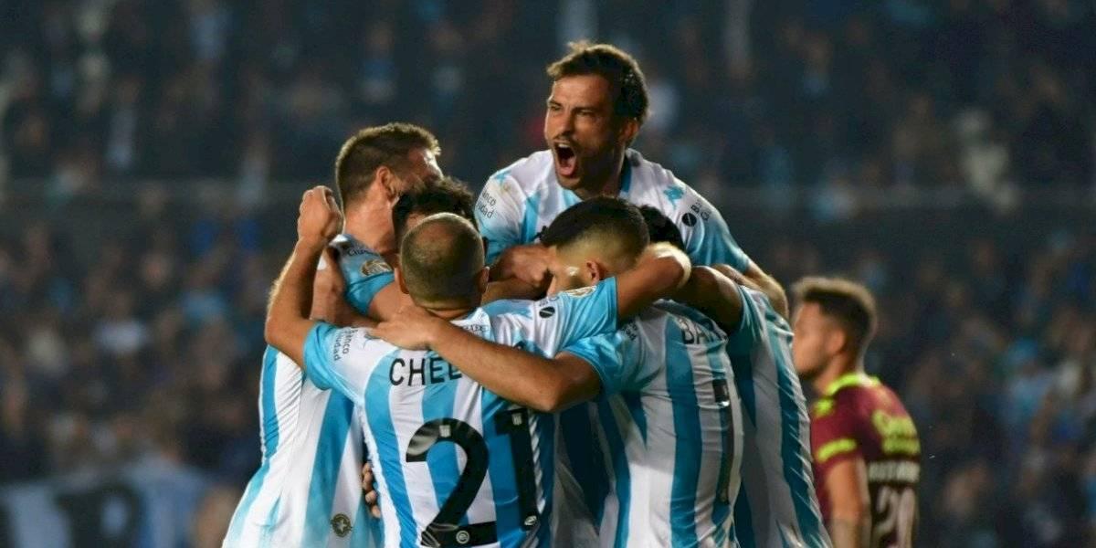 Racing derrotó a Godoy Cruz con Arias, Mena y Díaz como titulares, y consiguió su primera victoria en la Superliga Argentina