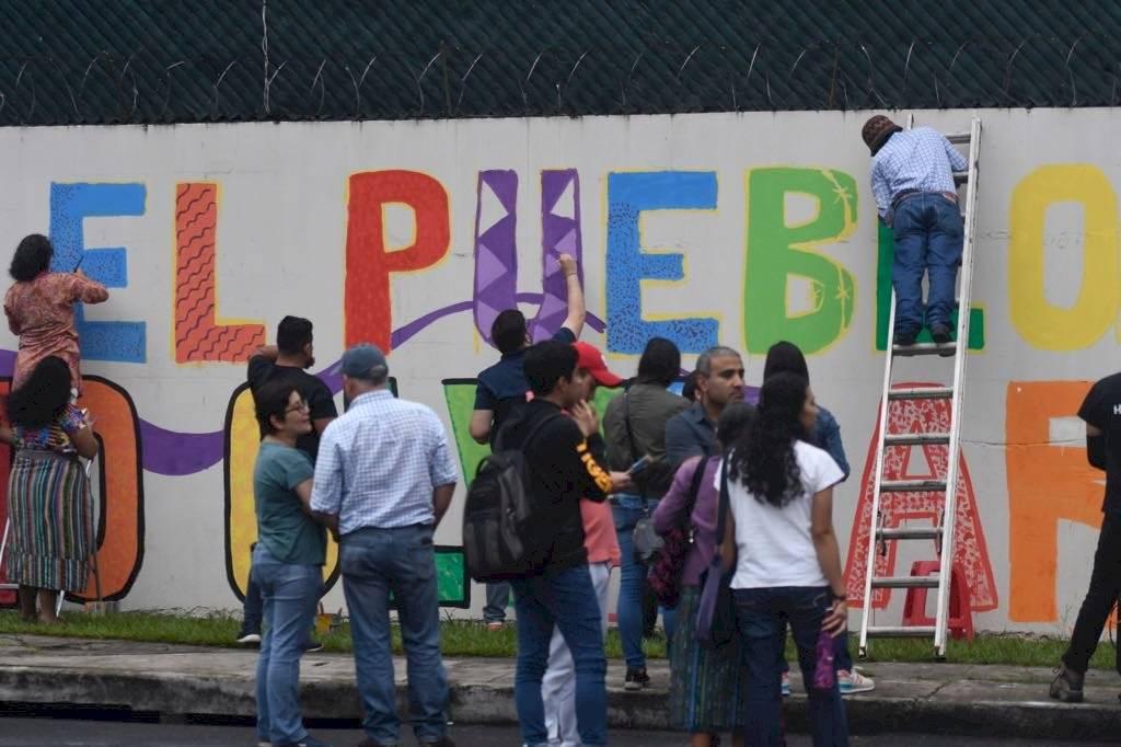 Cicig mural