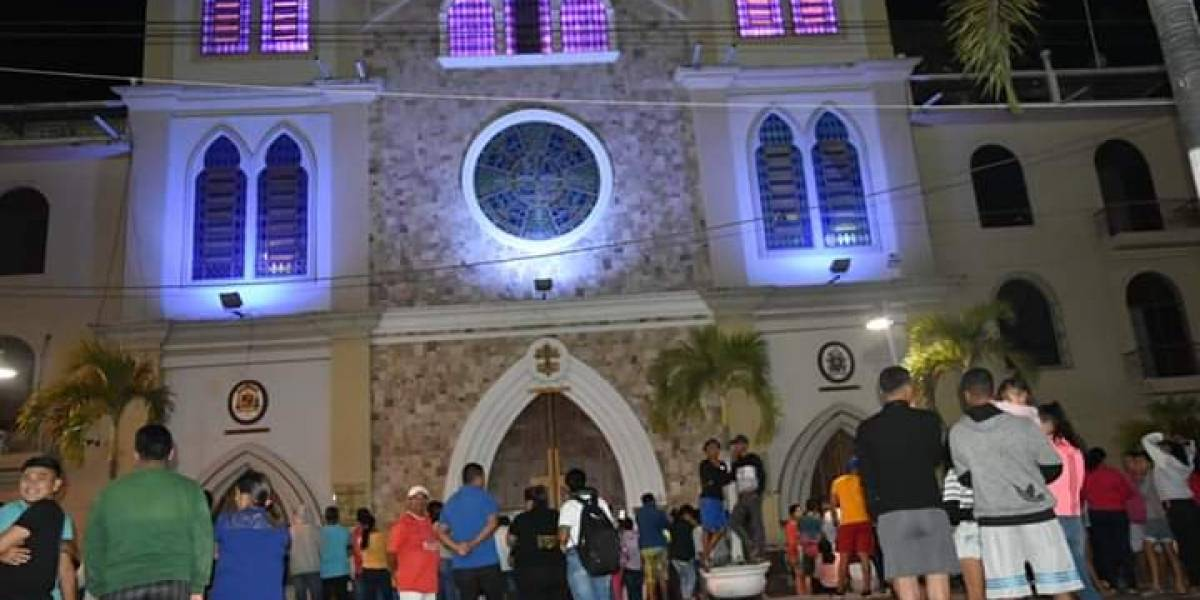Guayas: Dos capturados por intento de robo en una iglesia de Yaguachi