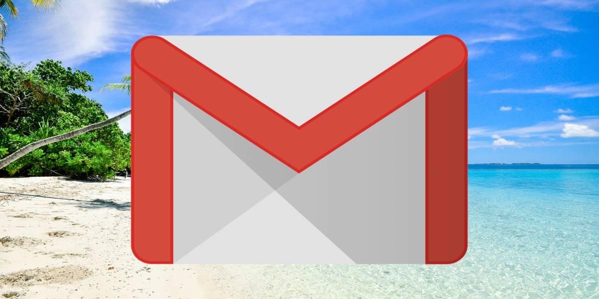 Pronto Gmail podrá avisarles a tus compañeros de trabajo que estás de vacaciones antes de enviarte un correo