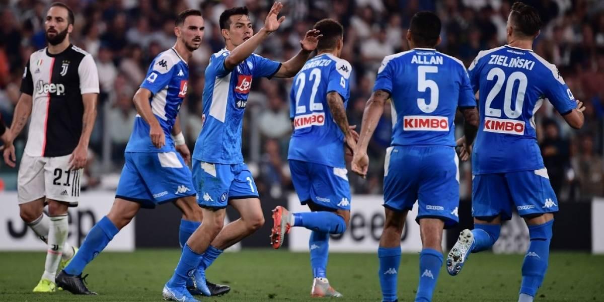 """Primera diablura del """"Chucky"""" Lozano en la Serie A"""