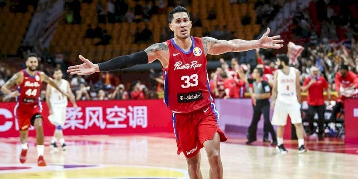 Puerto Rico vence en dramático final a Irán en primer juego del Mundial FIBA