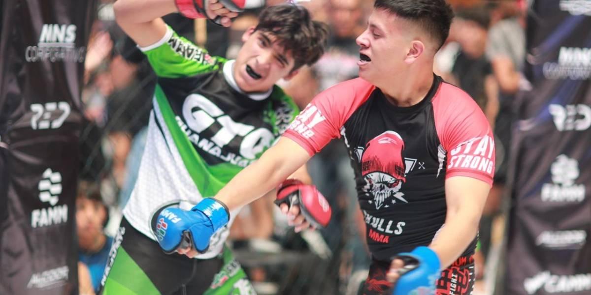Inauguran Torneo Nacional de MMA en Ciudad de México