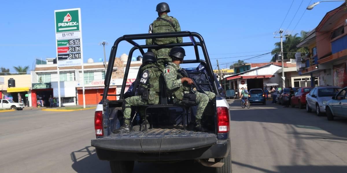 Atacan a elementos de la Guardia Nacional en Salamanca
