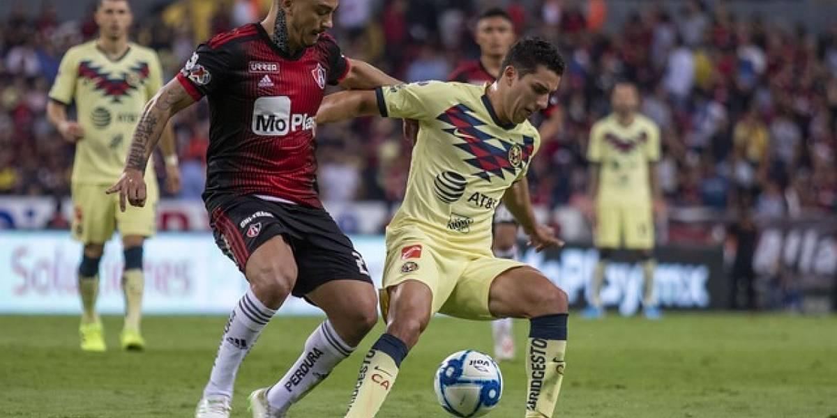 Lorenzo Reyes fue titular en el triunfazo del Atlas sobre América en la Liga MX