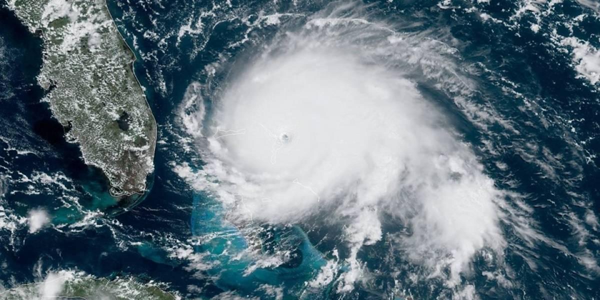 Dorian desata destrucción en las Bahamas con ráfagas de sobre 220mph