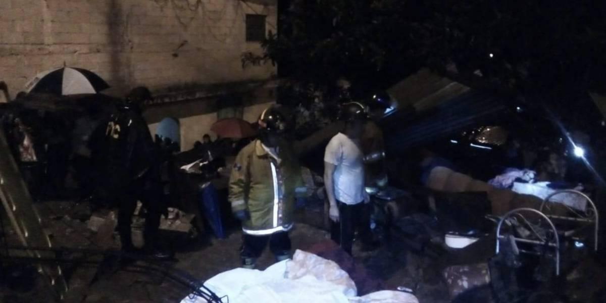 Adolescente muere soterrada por deslave en zona 1 de Mixco