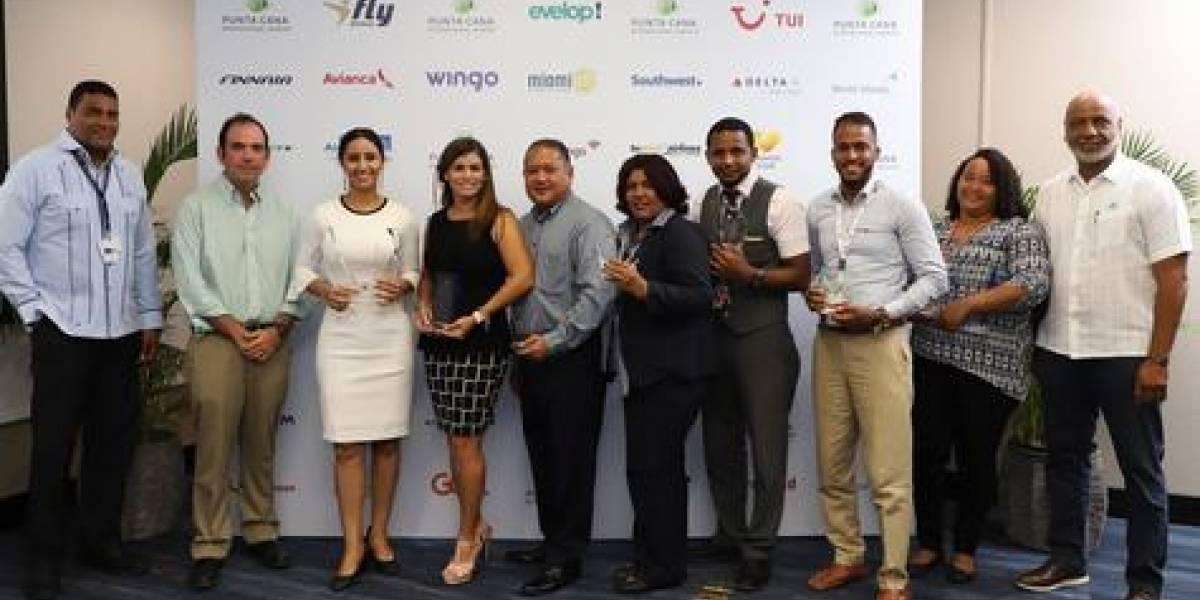 #TeVimosEn: Aeropuerto Internacional de Punta Cana reconoce aerolíneas y handlers por la calidad en el servicio