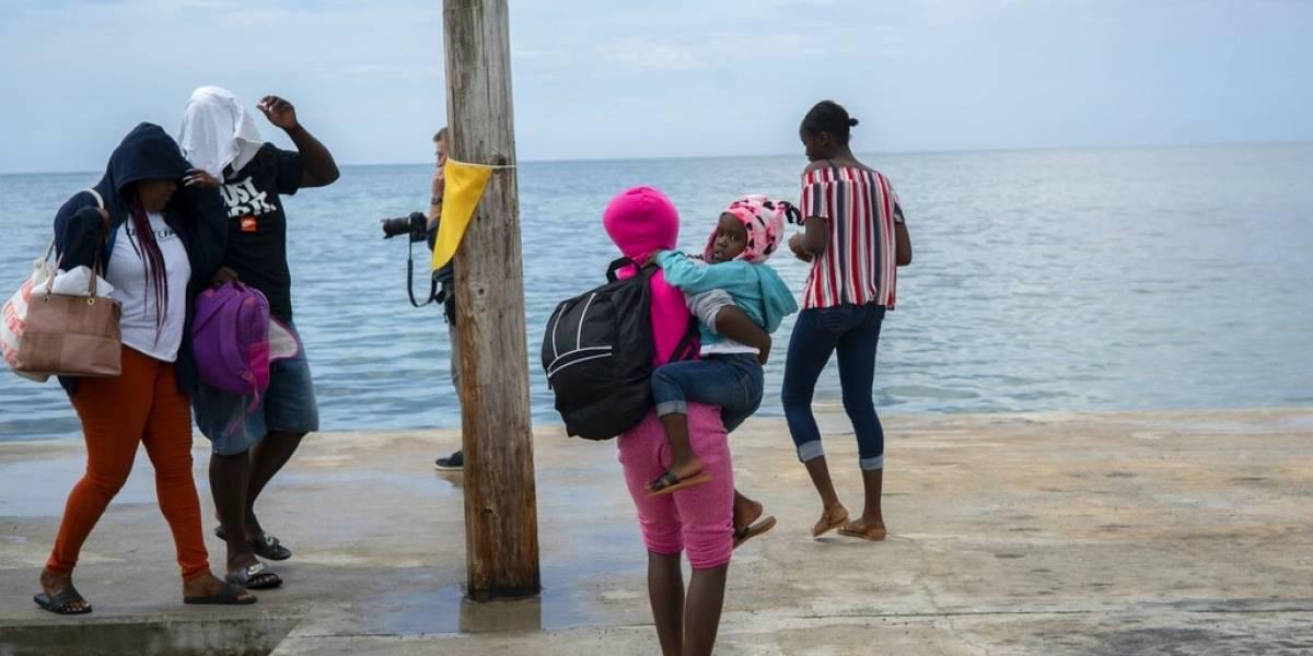 """El """"catastrófico"""" huracán Dorian encara las Bahamas como categoría 5"""