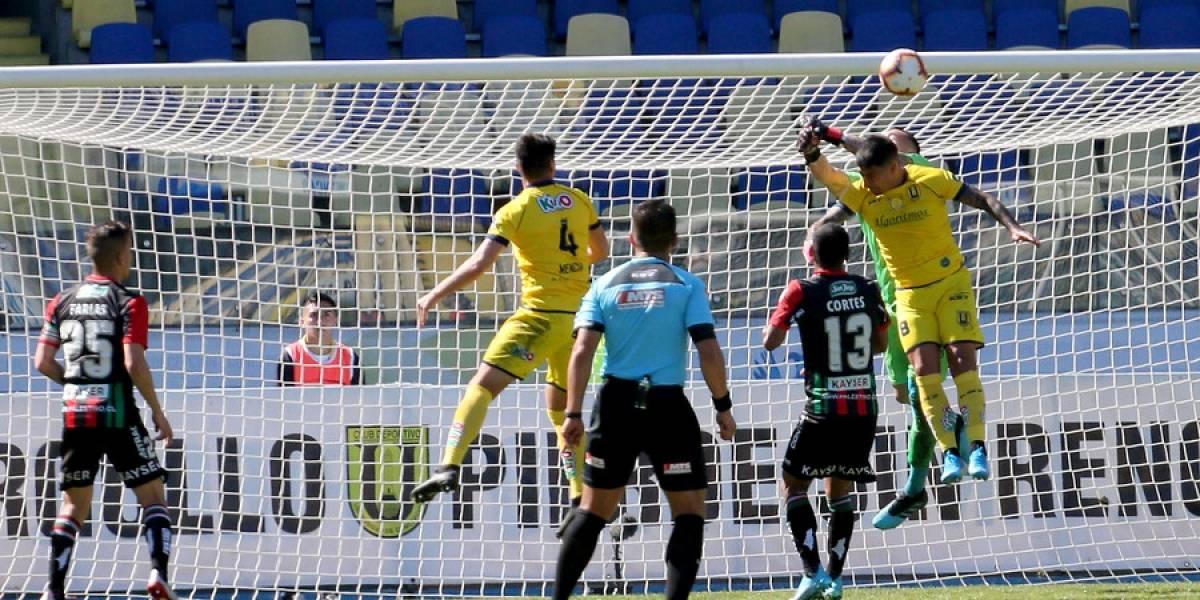 La U. de Concepción sigue sin salir del fondo tras pobre empate frente a Palestino