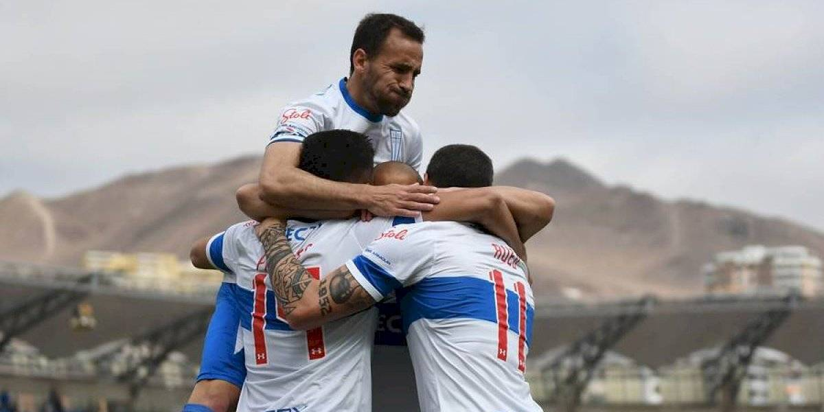 La UC volvió a los festejos en el torneo tras agónico triunfo sobre Antofagasta