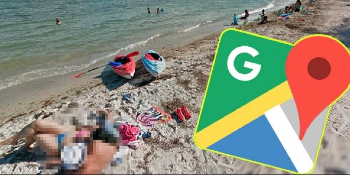 'Obscena imagen' es captada por un joven tras recorrido con Google Maps