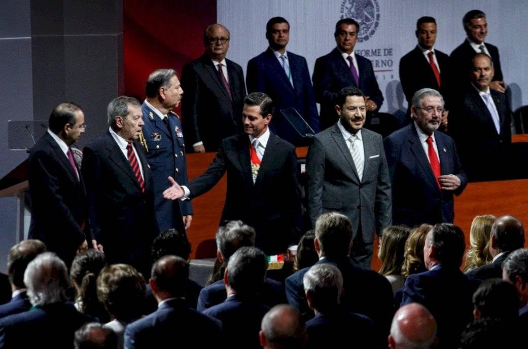Último Informe de Peña Nieto. Foto: Cuartoscuro.