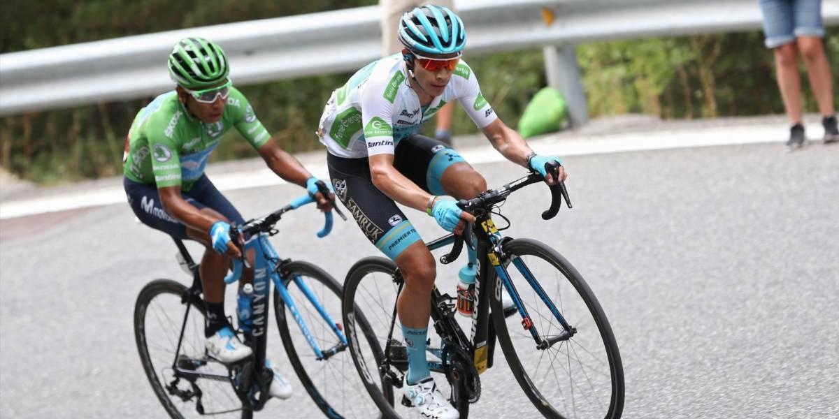 ¡De Boyacá para el mundo! Nairo firmó una maravillosa etapa y es nuevo líder de La Vuelta