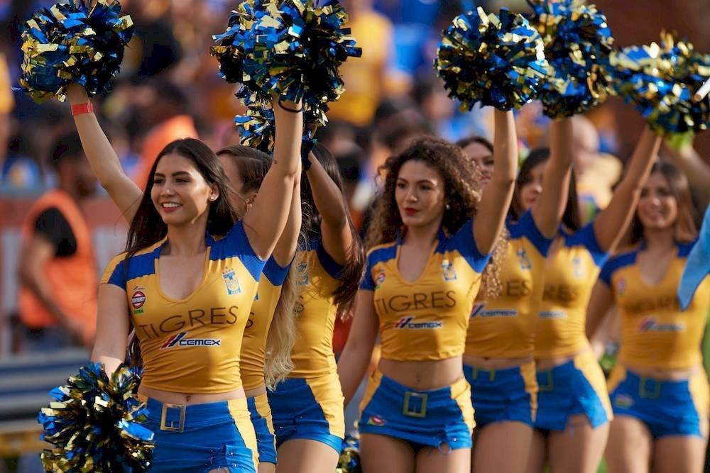 Las porristas de Tigres son de las más guapas. / Mexsport